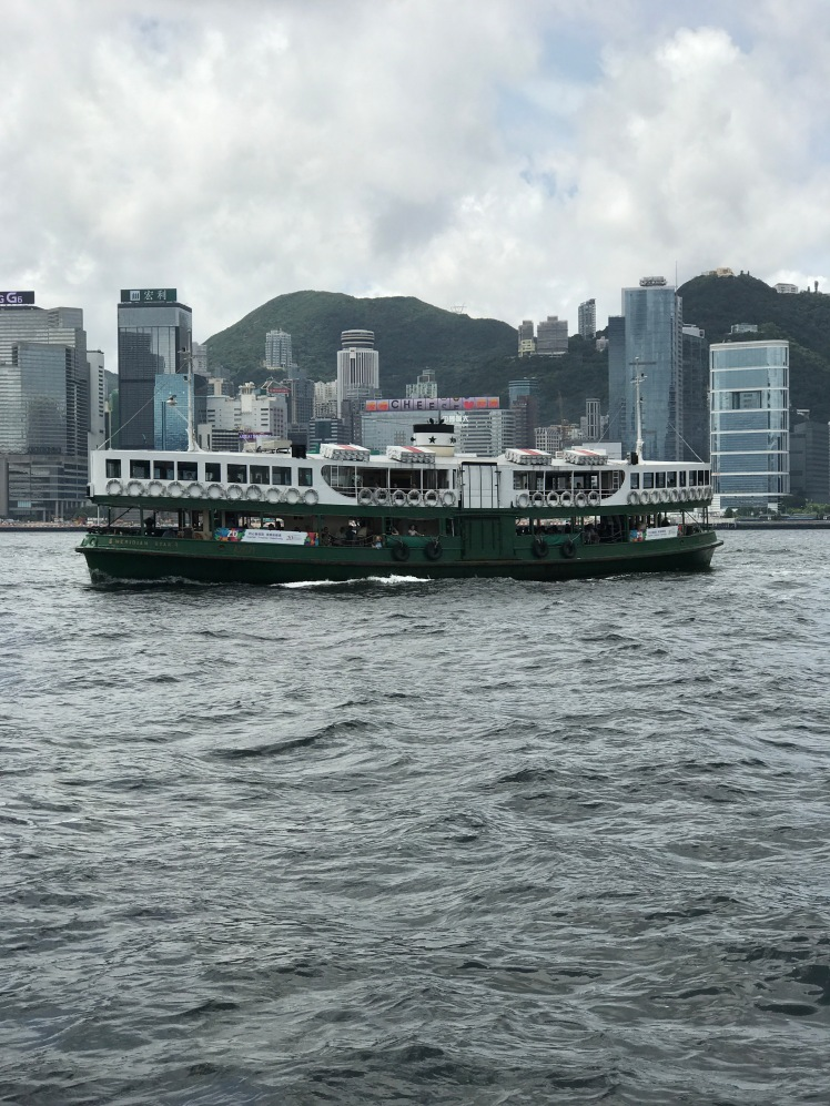 Star Ferry oing Kong