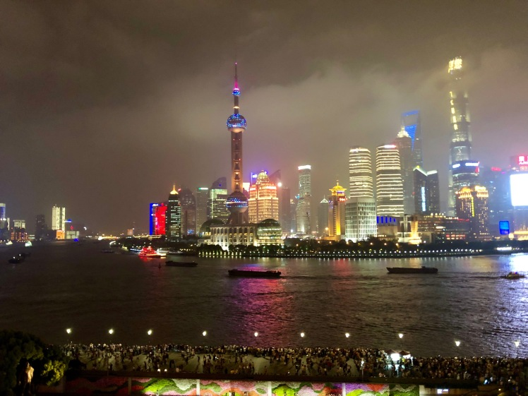 Pearl Tower in Pudong, Shanghai